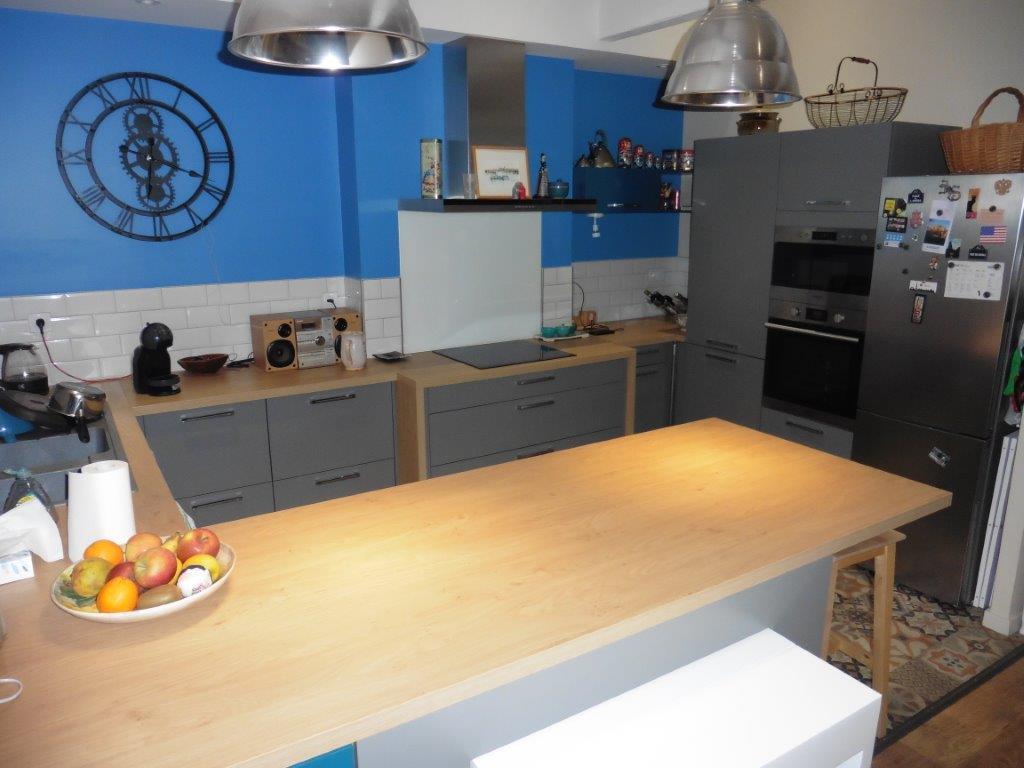 cuisine boheme chic les cuisines de maud am nagements cuisines dressing. Black Bedroom Furniture Sets. Home Design Ideas