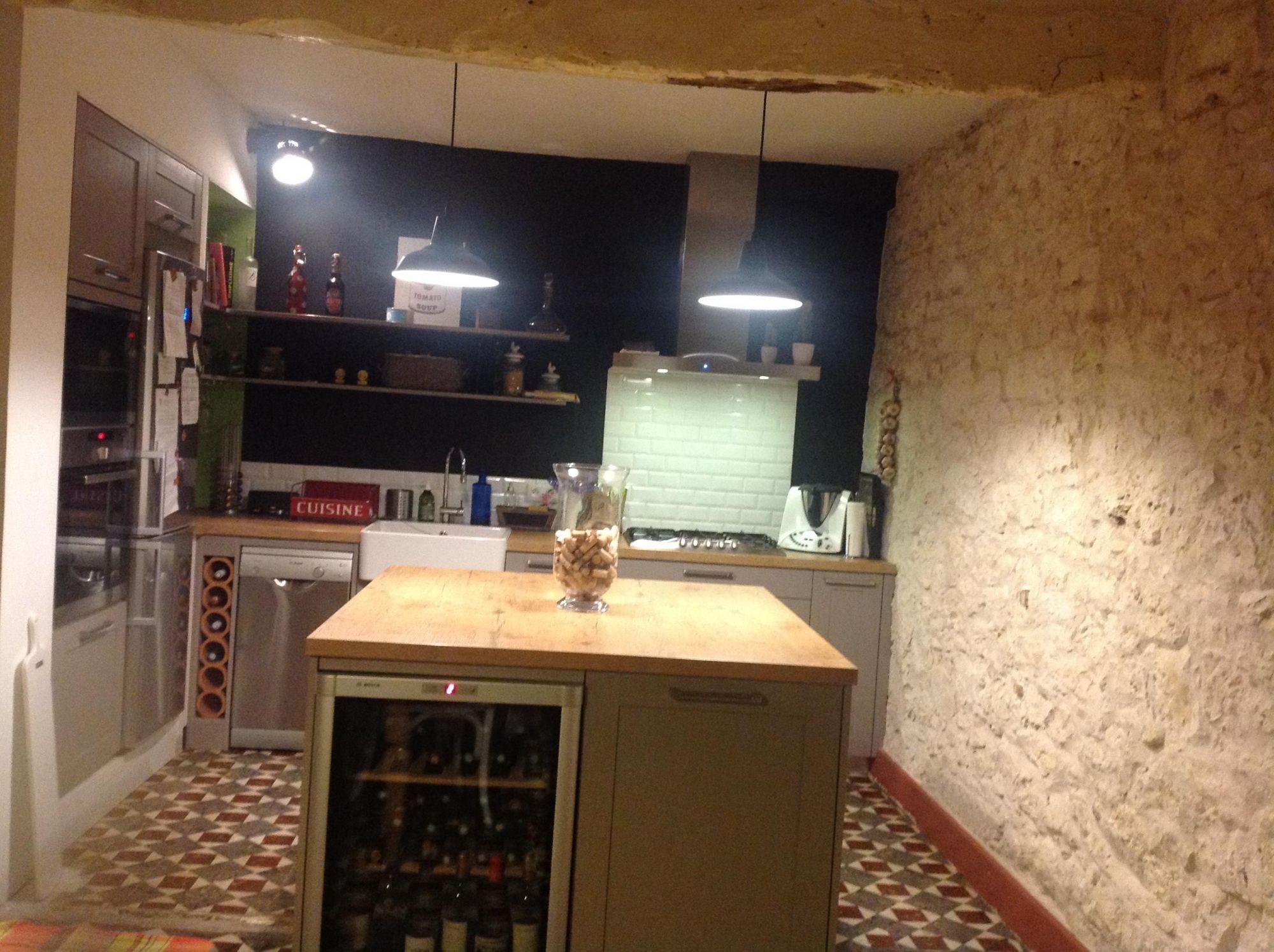cuisine style brocante les cuisines de maud am nagements cuisines dressing. Black Bedroom Furniture Sets. Home Design Ideas